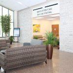 Atrium into Ambulatory Care Waiting