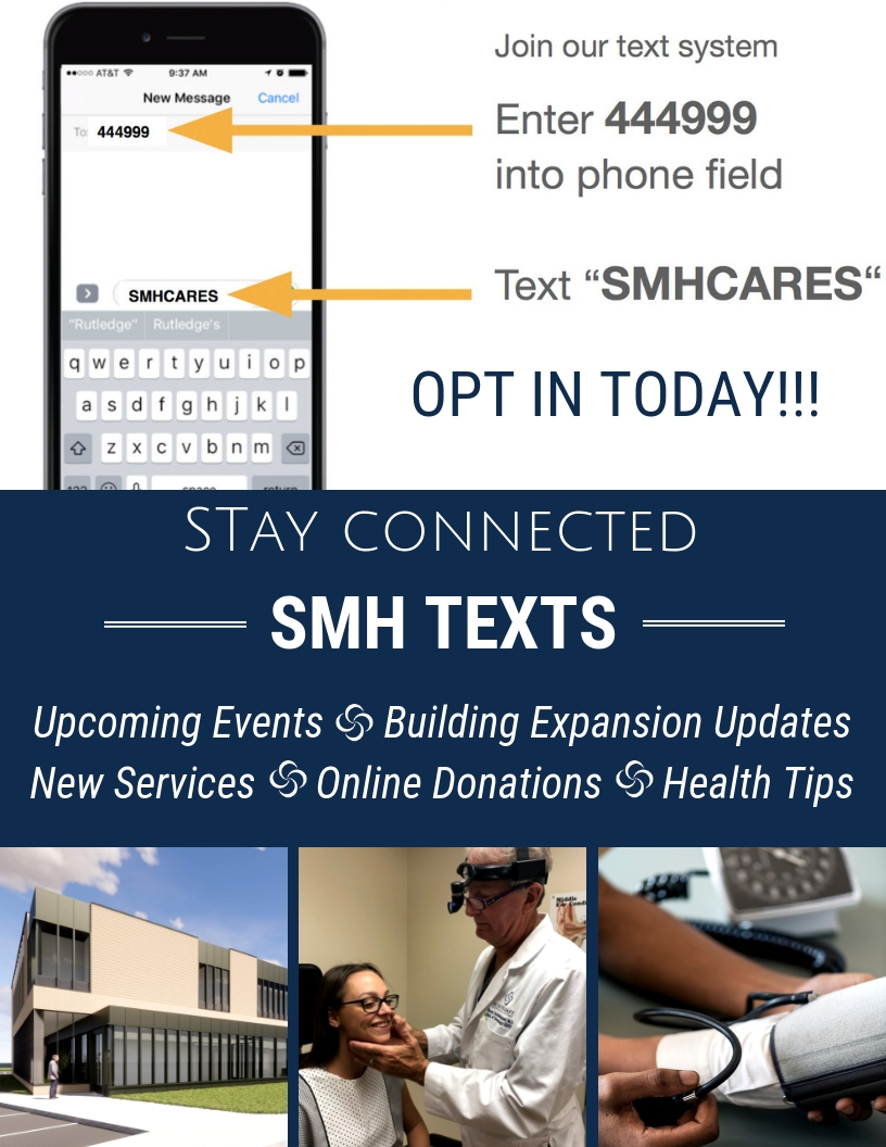 OPT IN FOR SMH TEXTS