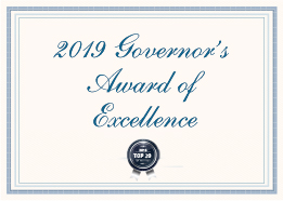 2019 Governor's Award of Excellence