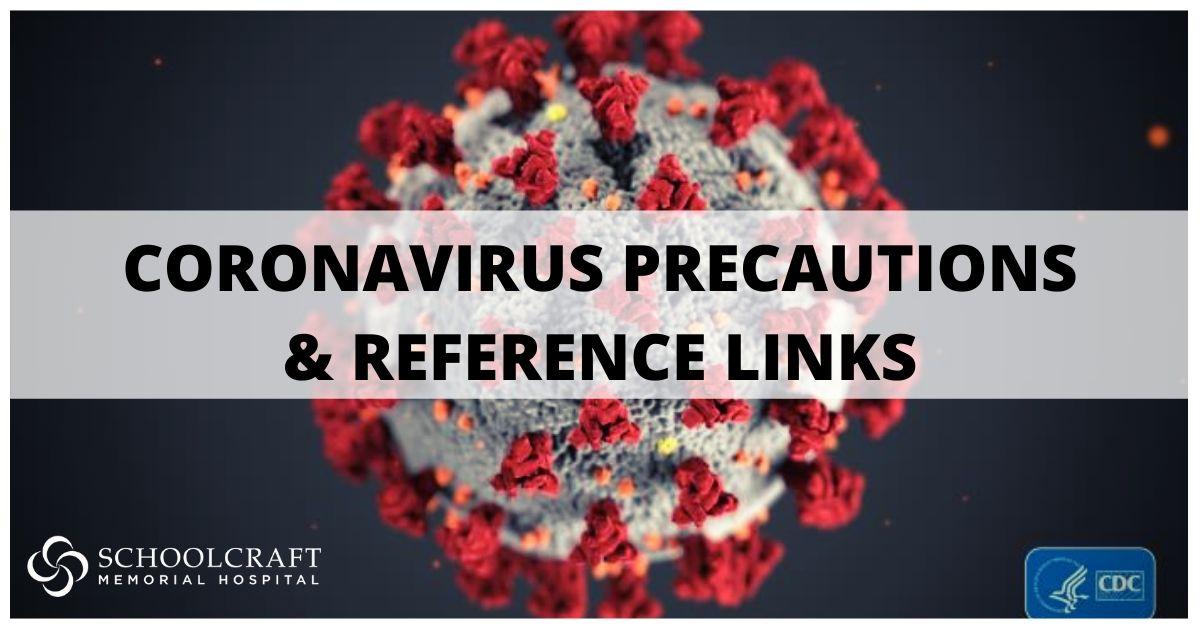 Coronavirus precautions-Schoolcraft Memorial Hospital