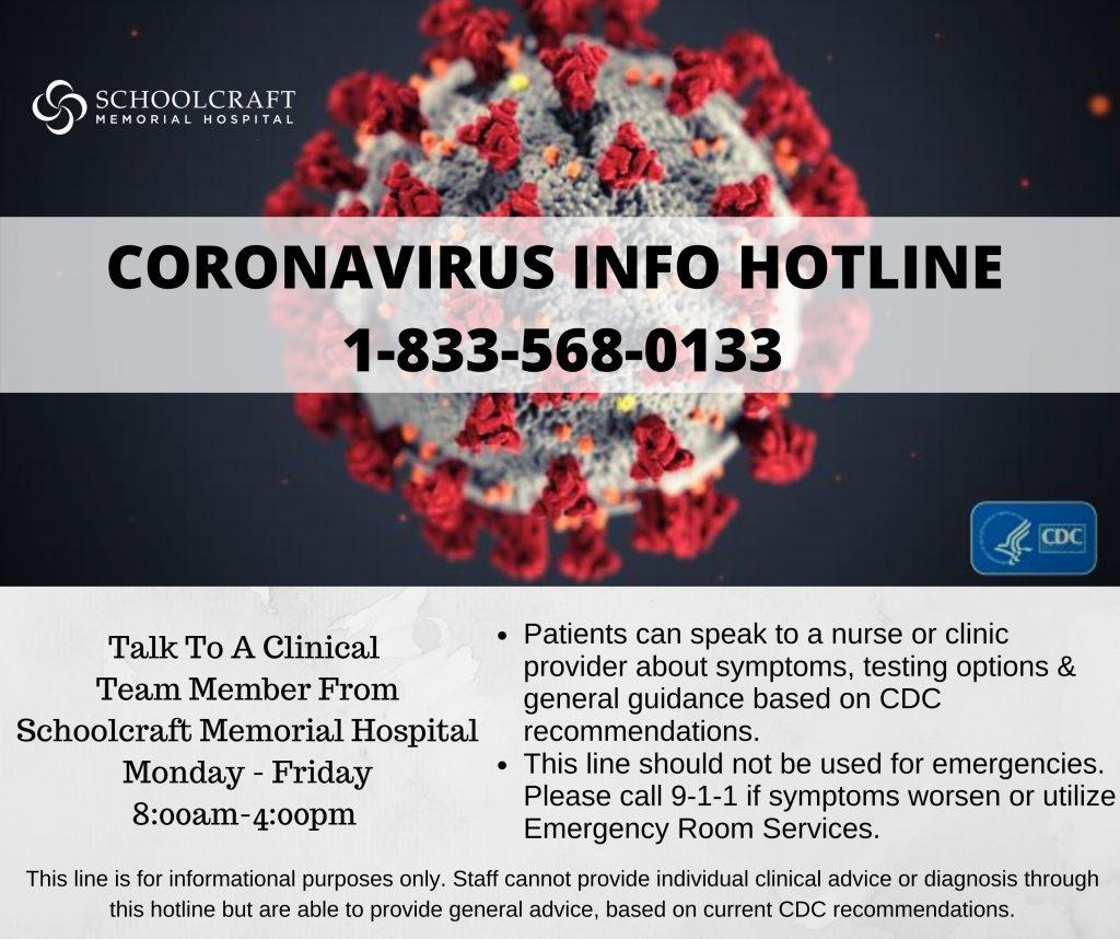 Coronavirus Info Hotline