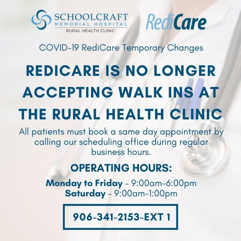Redicare - Schoolcraft Memorial Hospital