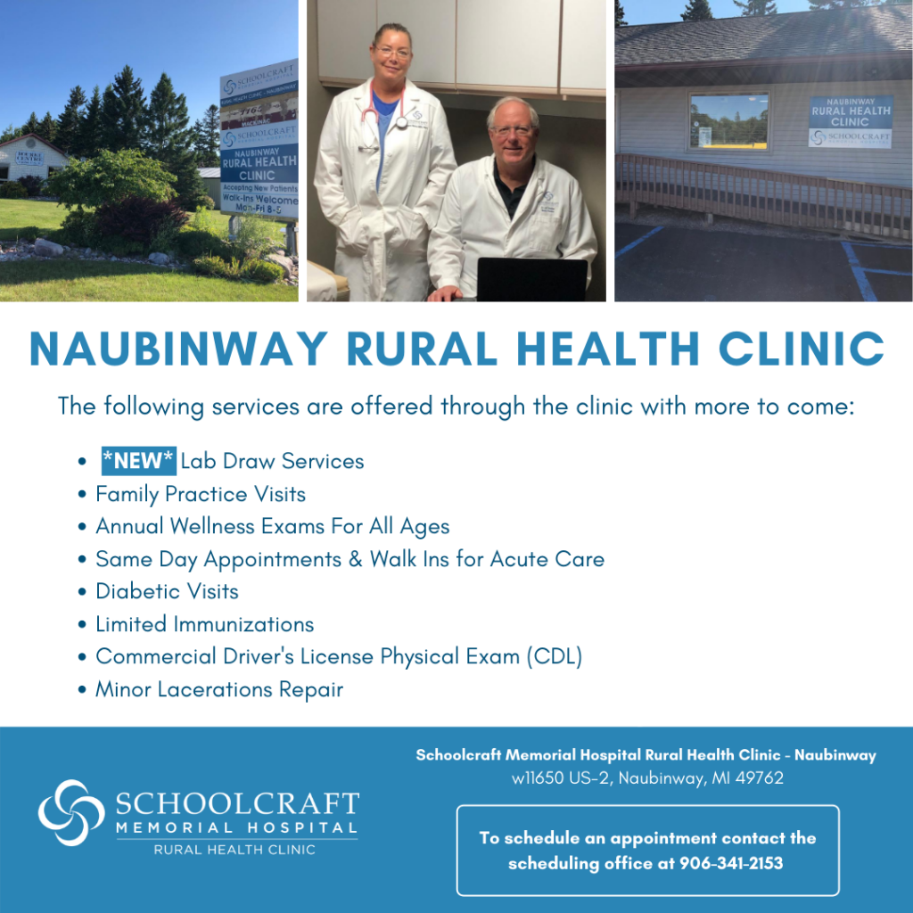 Rural health clinic - Schoolcraft Memorial Hospital